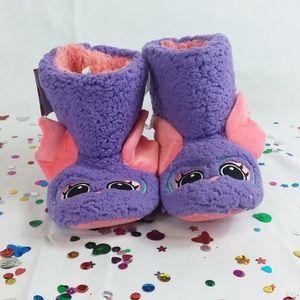 Cat & Jack - Owl Bootie Slippers